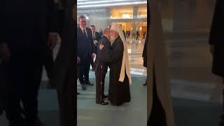 Pozdrav Putina i patrijarha Irineja
