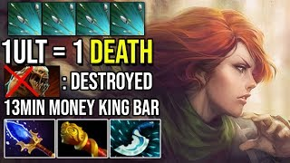 13Min MKB [Windranger] Made Enemy Carry Rage Quit 1Focus Fire = 1Death By W33 7.20e Dota 2