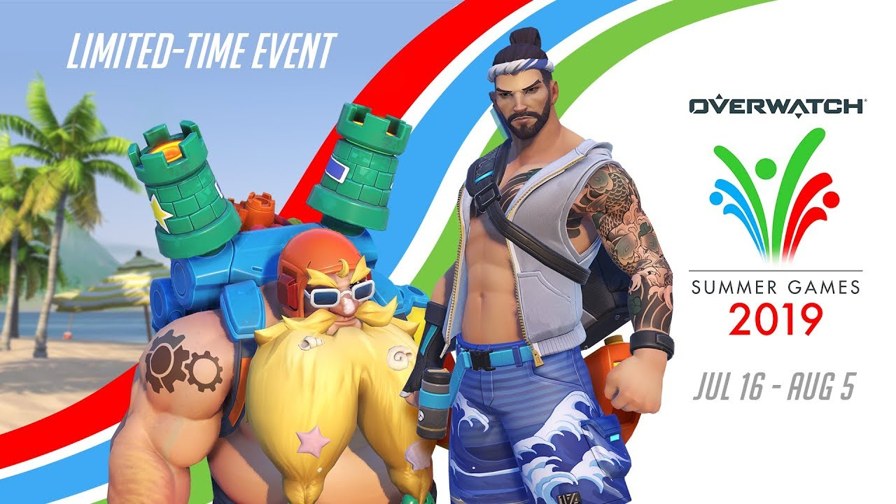 Overwatch Seasonal Event | Summer Games 2019 Videosu
