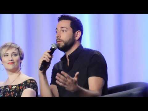 Tangled the Series panel @ D23 Expo 2017 (Zachary Levi, Jeremy Jordan, Mandy Moore)