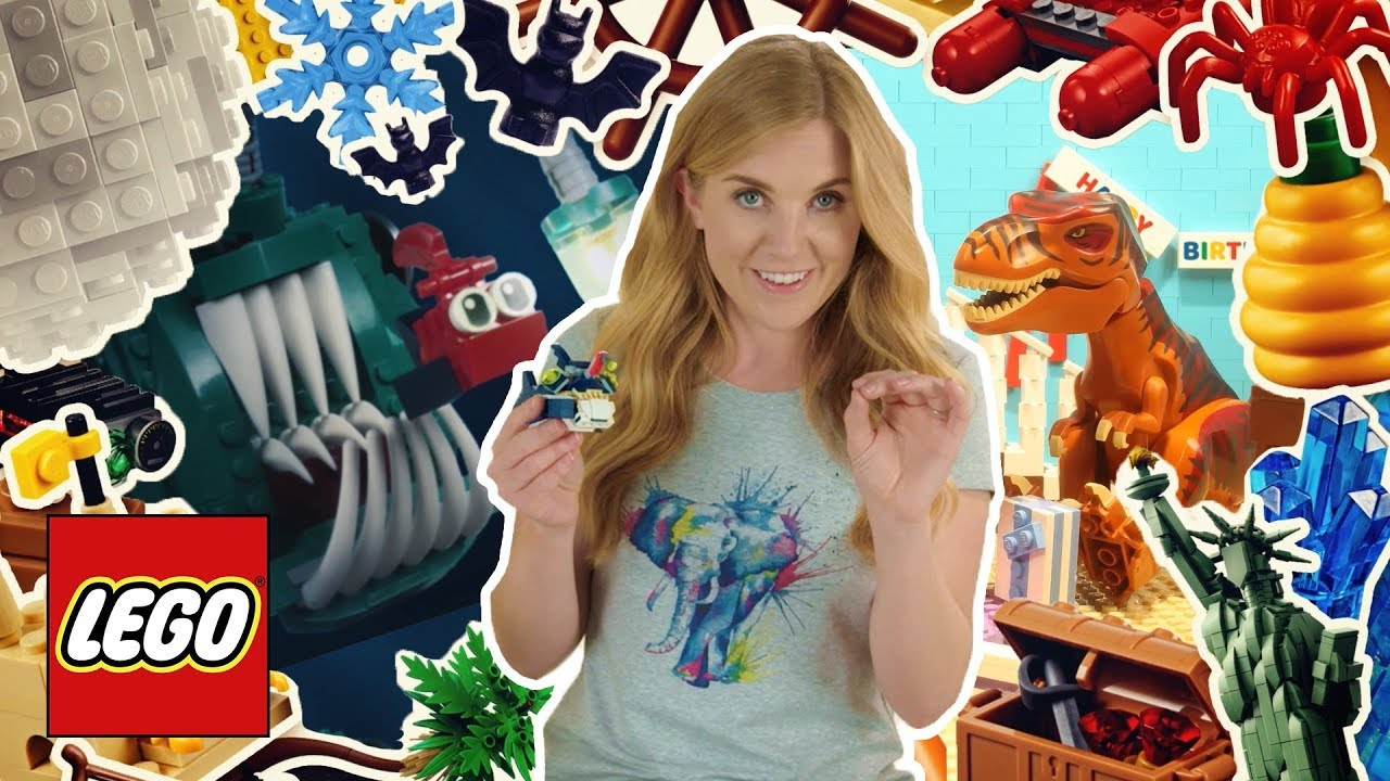 Amazing Animal Facts! Easy learning fun facts about crocodiles, rats, fish & more! LEGO stop mot