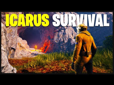 HUGE Icarus Survival Update - First Impressions & Getting Started! (Icarus Survival Gameplay)