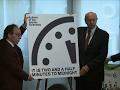Doomsday apocalypse clock moves forward