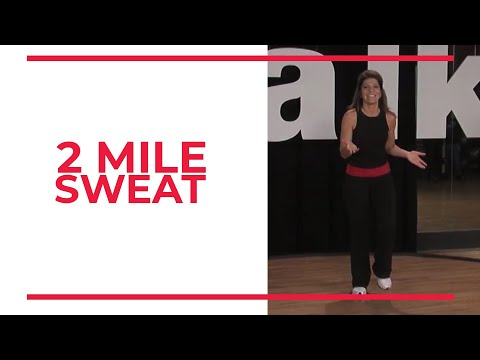 2 Mile SWEAT | At Home Workouts