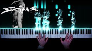 XXXTENTACION - Guardian Angel prod. Potsu Skins - piano cover tutorial how to play