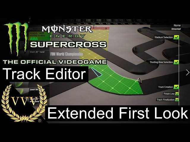 Monster Energy Supercross | Track Editor Extended Look