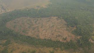 La densa humareda que cubre el corazón de la Amazonía