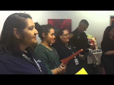 Tucson Police - Imago Dei Middle School Gift Giving Event