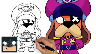 How To Draw Colonel Ruffs | Brawl Stars