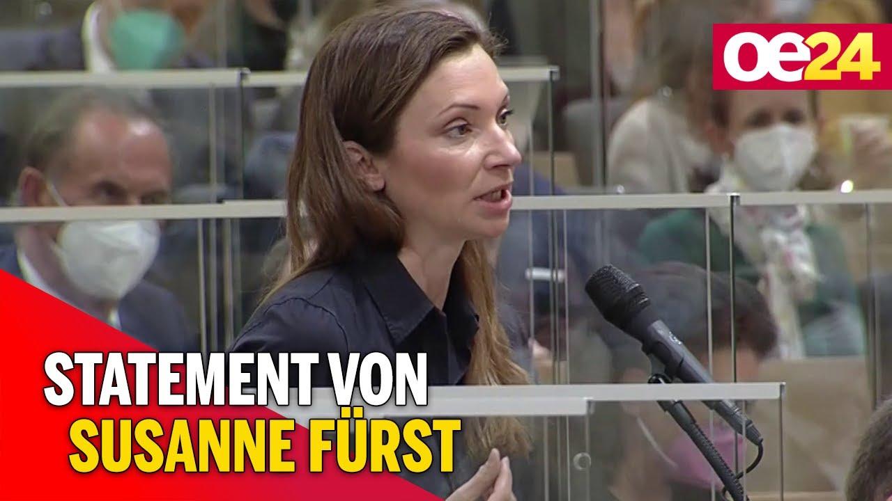 Susanne Fürst zu Masken-Eklat im Parlament