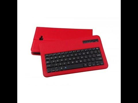 Samsung Galaxy Tab A 10.1 2016 Bluetooth Keyboard Cover Rood