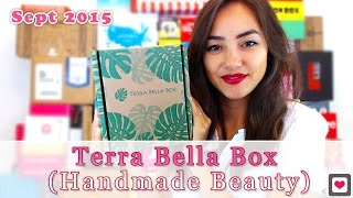 Terra Bella Box (Handmade Beauty) + 10% Coupon - Sept 2015