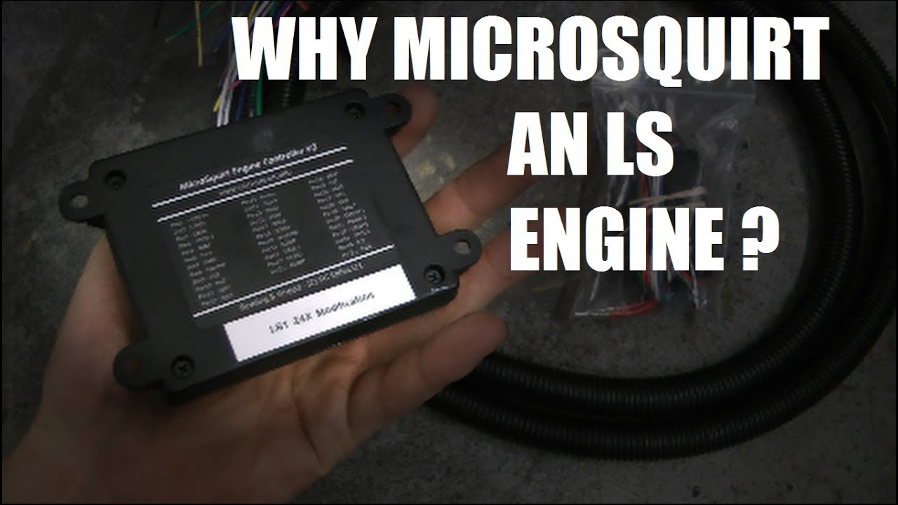 Why I went with a Microsquirt on my LS vs  GM ecu
