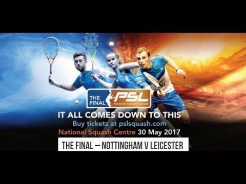 Premier Squash League 2016-17  THE FINAL