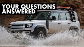 NEW Land Rover Defender EXTRA FILM: Your Questions Answered | Carfection +