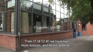 English - Daily routine (A1-A2 - with subtitles)