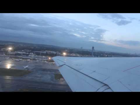SAS Skandinavian MD-82 powerfull steep takeoff from Düsseldorf [HD]