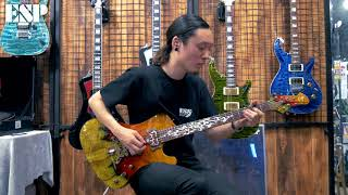 ESP Guitars: 2018 ESP Exhibition Limited EX18-30 STREAM-GT CTM [4K]