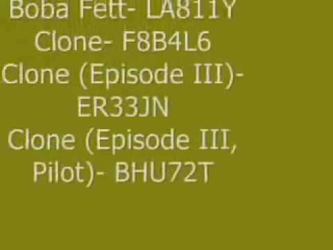 Lego <b>Star Wars Cheat Codes</b> PS2 - YouTube