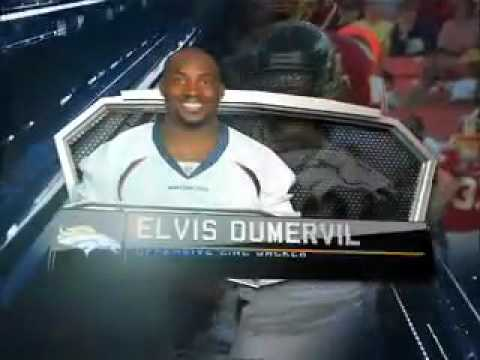 2010 PLAYER OF THE YEAR AWARDS AS NARRATED BY 04 - Elvis Dumervil - 92 DENVER BRONCOS