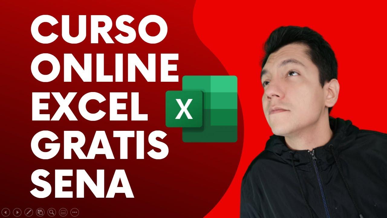 Curso Online Gratis Excel Microsoft Con Certificado Sena 2021 Curso En Linea Youtube