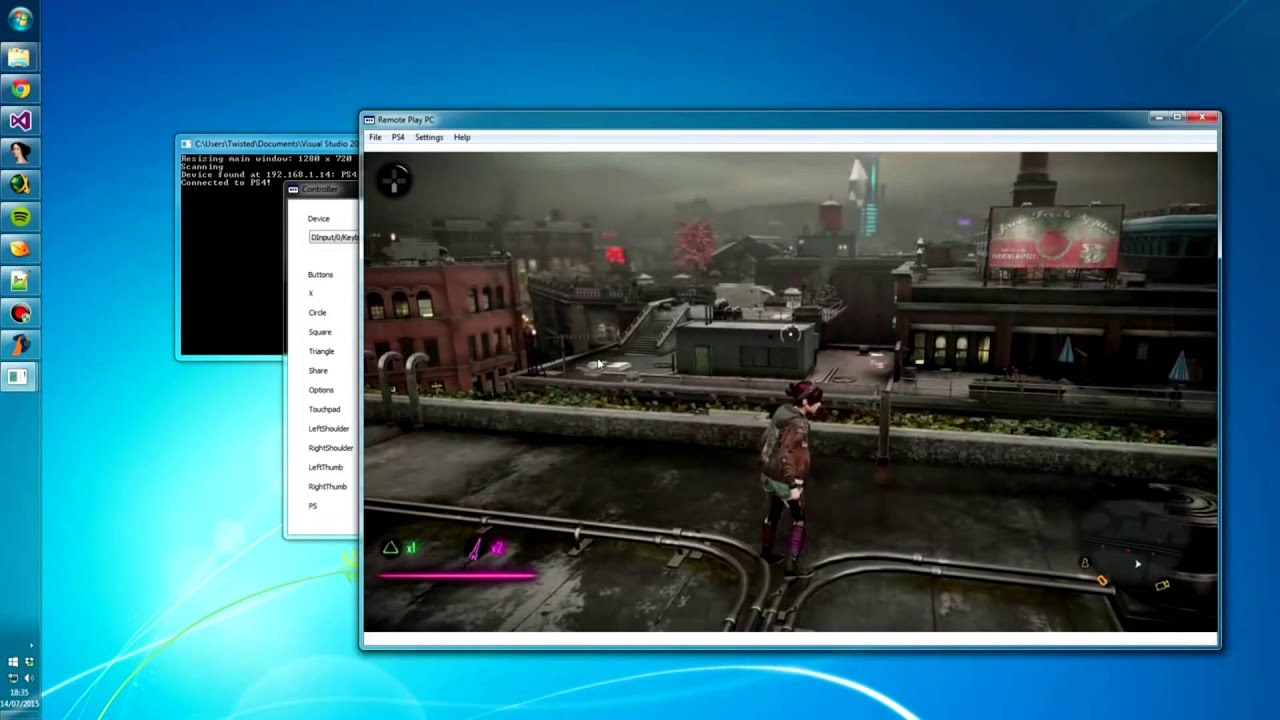 how to change ps4 pc remote play video quality
