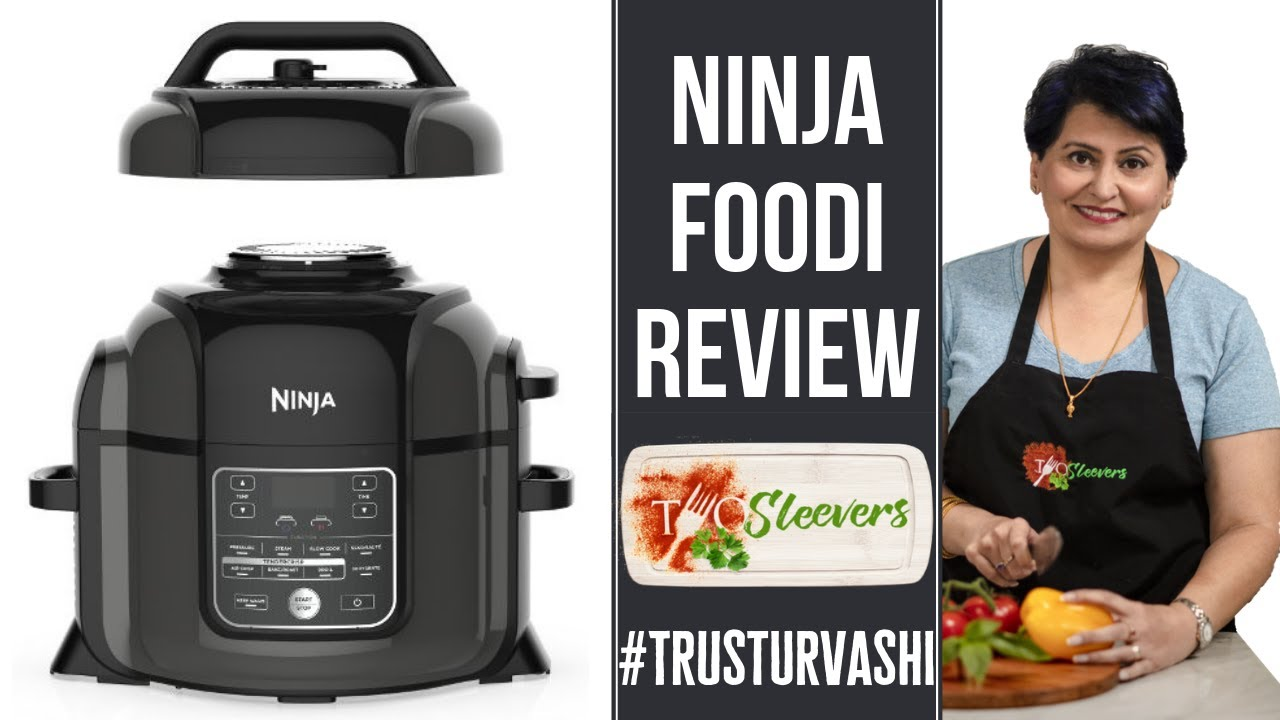 Ninja Foodi Review Pressure Cooker Air Fryer Combination With Recipe Youtube