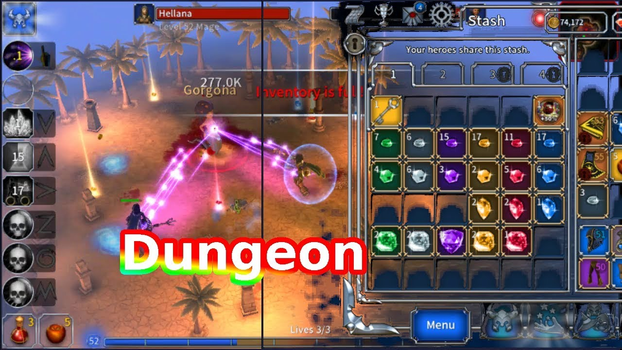 Eternium Map Dungeon The Best Place Farming Legendary Items