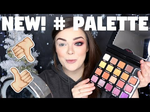 NEW! VIOLET VOSS PRO HASHTAG PALETTE| HONEST REVIEW + SWATCHES & TRY ON!