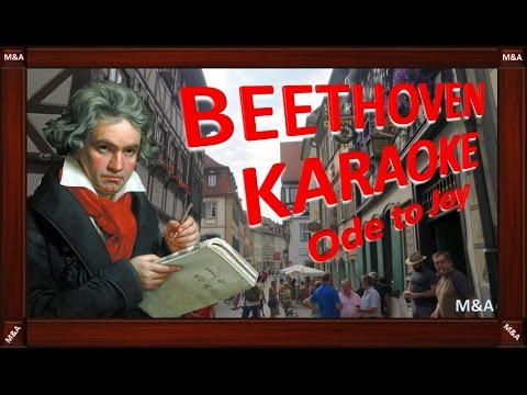 ODE TO JOY Original version (Symphony No. 9, 4th movement, 6th strophe) #Beethoven