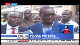EACC wamezitwaa stakabadhi muhimu zake Dr Evans Kidero na watoto wake wawili