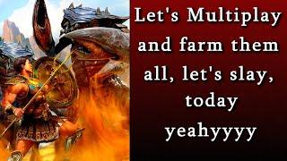 Titan Quest Atlantis  Multiplayer Farming Endgame And Trading!