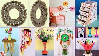 10 Creative UseFull !!! DIY Room Decor & Organization Idea - DIY Projects