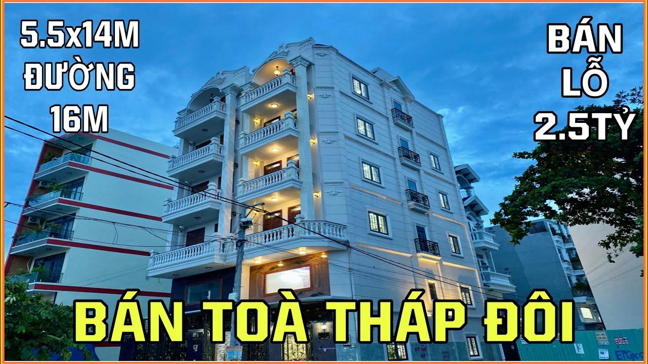 Bán nhà Gò Vấp | Bán Toà Tháp Đôi Mặt Tiền đường 16m 5 lầu Thang Máy giảm ngay 2.5 tỷ khi mua nhanh