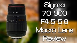 Sigma 70-300mm f4-5 6 Macro Lens Review Canon Mount