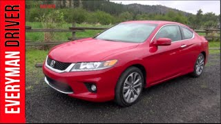 2013 Honda Accord Coupe Review on Everyman Driver