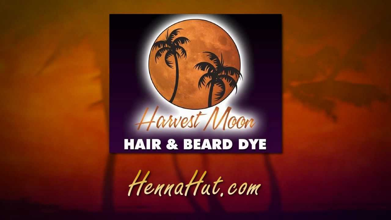 Henna Hut Harvest Moon Natural Burgundy Hair And Beard Dye Youtube