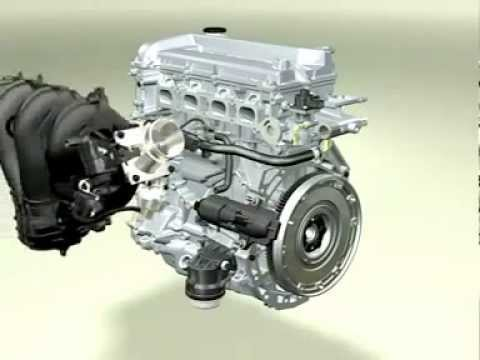ford focus zetec engine diagram power window switch wiring motor duratec 2.0l 16v - montagem 3d youtube