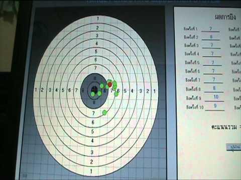 Electronic  Shooting Target   dtmf99@live.com