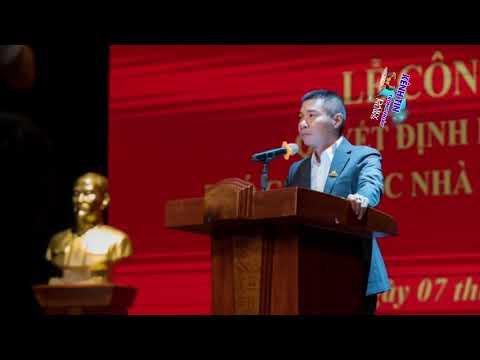 NSND Công Lý chính thức được bổ nhiệm chức Phó Giám Đốc nhà hát kịch Hà Nội