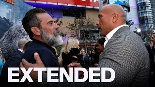 Jeffrey Dean Morgan Thinks 'The Rock' Smells Delicious | EXTENDED