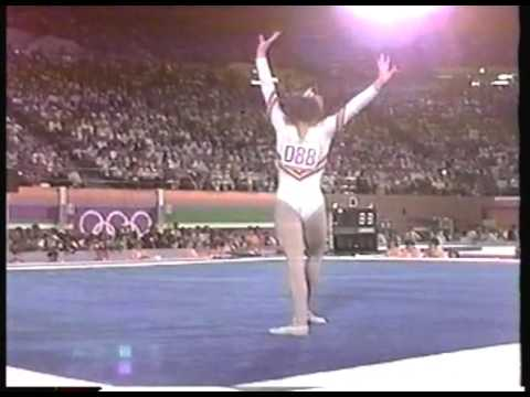 Olympics - 1984 Los Angeles - ABC Profiles - Mary Lou Retton & Ecaterina Szabo & Julianne McNamara