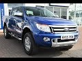 Used Ford Ranger Pick Up Double Cab Limited 2.2 TDCi 150 4WD Blue 2016