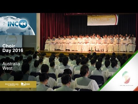 INC Review: Australia West - Choir Day 2016