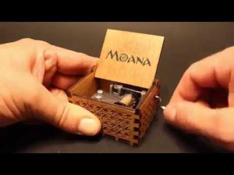 Caja musical - Moana