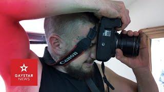 Fetish photographer captures chemsex session