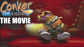 Conker Live & Reloaded The Movie ( All Cutscenes ) Bad Fur Day & Chapter X