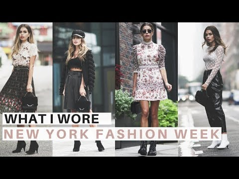 4 New York Fashion Week Outfits | How to Style NYFW