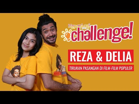 Reza Rahadian & Delia Husein Tirukan Adegan Dilan & Milea