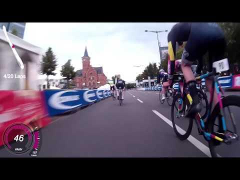 Rad Race Crit Cologne 2016 onboard Fixedpott